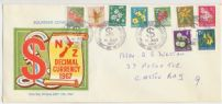 10/07/1967 NZ FDC 1967 Pictorial Definitive to 7c (NFD/1218)